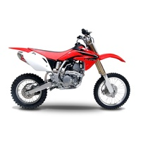 Yoshimura Signature Series RS-2 Stainless Full Exhaust System w/Aluminum Sleeve/Stainless End Cap for Honda CRF150R/RB 07-21