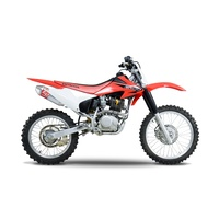Yoshimura Enduro Series RS-2 Stainless Full Exhaust System w/Aluminum Sleeve/Stainless End Cap for Honda CRF230F 03-19