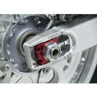 Yoshimura Axle Blocks Red for Kawasaki/Suzuki Dirt Models