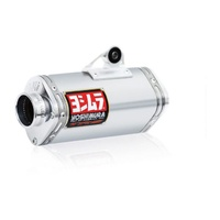 Yoshimura Enduro Series TRS Stainless Full Exhaust System w/Aluminum Sleeve/Aluminum End Cap for Kawasaki KLX125 03-06/Suzuki DR-Z125 03-09/12-18