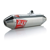 Yoshimura Enduro Series RS-2 Stainless Full Exhaust System w/Aluminum Sleeve/Stainless End Cap for Kawasaki KLX450 08-09