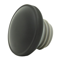 Zodiac Z012571 Gas Cap Set 96-Up Matte Black - CC1I
