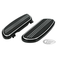 Zodiac Z057198 Streamliner Floorboards Black