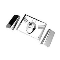 Zodiac Z094090 Fork Tin Set Chromed For Heritage/Fatboy