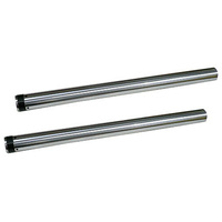 "Zodiac Z094621 Fork Tubes 49mm FXDF 2012-Up STD 25.50"" Hard Chromed - CC2E"