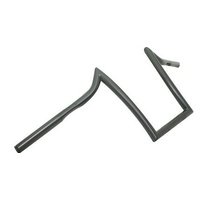 Zodiac Z096488 Solo Z-Bars Handlebar 10 Inch Rise Black w/Indents