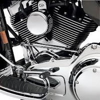 Zodiac Z105055 Cylinder Base Cover Chrome T/C Softail 07-Up
