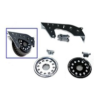 Outlaw Front Pulley Guard Kit Black XL 04-
