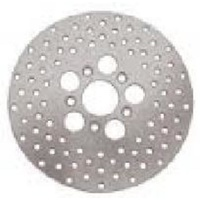 "Zodiac Z144066 Drilled Disc Rotor 10"" Inch Countersunk"