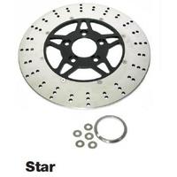 Zodiac Z144828 Chromestar Disc Rotors for Harley 84-Up - CC1I