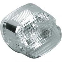LAYDOWN STYLE TAIL LIGHT & CLEAR LEN CUSTOM APPLICATION SUIT ALL MOTORCYCLES