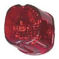 Zodiac Z160624 Laydown Tail Light Lens Red 99-03 - CC2E