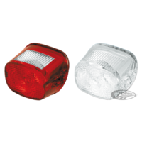 Replacement Red Taillight Lens 68010-64B Twins Harley Davidson 68090-69 Fits