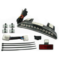 Zodiac Z161815 Revox Chopped Fender Edge LED Smoked Light Kit 2014 XL883/1200N,XL1200V/X - CC1I