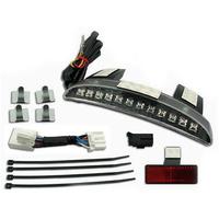 Zodiac Z161815 Revox Chopped Fender Edge LED Smoked Light Kit 2014 XL883/1200N,XL1200V/X - CC1I
