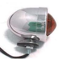 Zodiac Z162046 Bullet Marker Lights Amber Lens