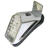 Zodiac Z162133 Mini Tombstone Tail Light LED w/Licence Plate Mount