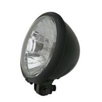 """Zodiac Z165404 Classic 5.75"""" Inch Headlight H4 All Black EU Approved"""