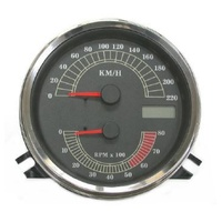 SPEEDOMETER & TECHO SOFTAIL 96-98 ; 00-03 / TOURING 95-03  220KPH HARLEY CUSTOM