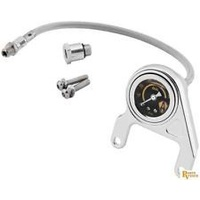 Zodiac Z169335 Oil Pressure Gauge Kit Chrome S&S EVO - CC1I