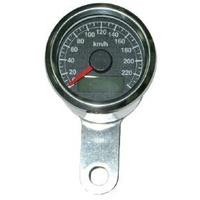 Zodiac Z169361 Mini Speedometer Black Face