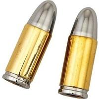 Zodiac Z282007 Valve Stem Cover Bullet Chrome/Gold