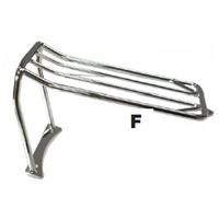 Zodiac Z301022 Luggage Rack FXDWG/FXDF 06-08 OEM 56802-06 (Bob Tail) Stock rear Fender Fittment - CC1I