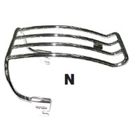 LUGGAGE RACK 1997-99 SOFTAIL MODELS WITH STOCK FENDER CHROME SUIT HARLEY