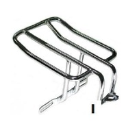 Zodiac Z301108 Luggage Rack Black Sportster 2004-10 Chrome - CC1I