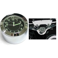 Zodiac Z345370 Steering Stem Clock Mount Chrome for 39mm Fork Models 87-14