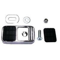 Zodiac Z351490 Brake Pedal Pad Kit Chrome FLST/F 97-08 - CC1I