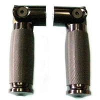 Zodiac Z351657 Tornado Folding Footpeg Set Rear Chrome - CC1I