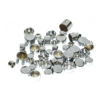 BOLT/NUT COVER; CHROME 1/2 (WRENCH SIZE) HEX 10/PK