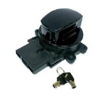 Zodiac Z370096 Ignition Switch Black 96-10 Softail 96-11 Dyna 96-13 FLHR Models Oem 71313-96  - CC1I