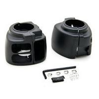 Zodiac Z370875 Switch Housing Kit Black Softail 2011-Up Dyna 2012-Up Cambus Models - CC1I