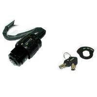 Zodiac Z370890 Ignition Switch Switch Black Round Key 3-Wire