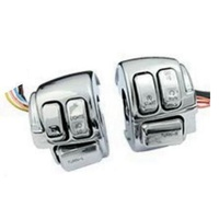 Zodiac Z371011 Switch Housing Kit Chrome Blocks w/Chrome Switches & Wiring - CC1I